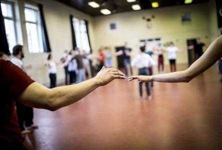 We teach dancing